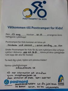 PostTrampet Inbjudan